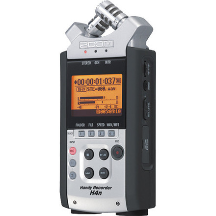 Zoom H4n Pro 4-Channel Handy Recorder with 4 GB SD Card