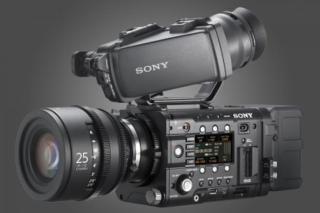 Sony PMW-F5  4K internal  CineAlta Digital Cinema Camera