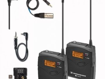 Rent: Sennheiser ew 112-p G3 Wireless Kit (A-Freq)