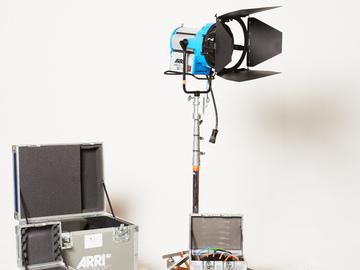 Rent: ARRI Sun 12 Plus HMI PAR Light Kit w/ 5 lens set