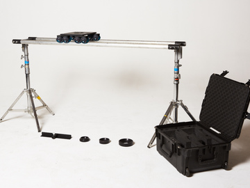 Rent: Dana Dolly Kit w/ 6' speed rail and low combo stands