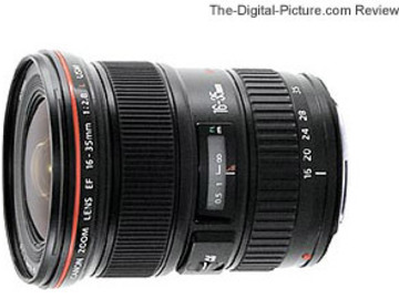 Rent: Canon 16-35mm (2.8) USM Zoom Lens