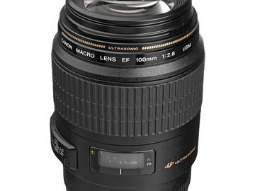 Rent: Canon 100mm (2.8) IS USM Macro Lens