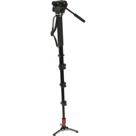Manfrotto 561HDV Monopod with Fluid Head