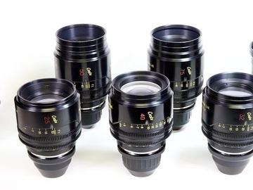 Cooke Mini S4 Set of 4 Lenses: