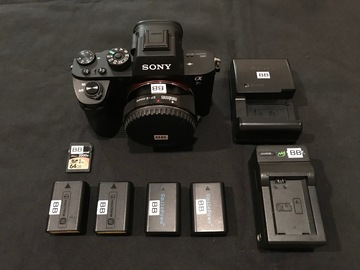 Rent: Sony A7s w/ Canon 24-105mm, Rokinon 14mm, Manfrotto 503 HDV
