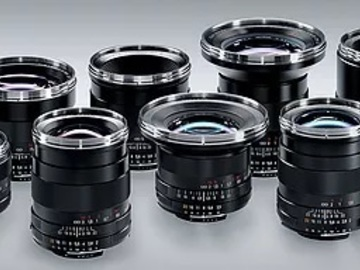 Rent: Zeiss  ZF Prime Lens Set of 6