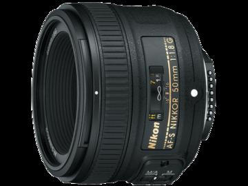 Rent: Nikon AF-S FX NIKKOR 50mm f/1.8G Lens with Auto Focus