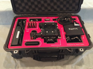 Rent: RED Epic-W Helium (EF or PL) KIT: POWER & MAGS