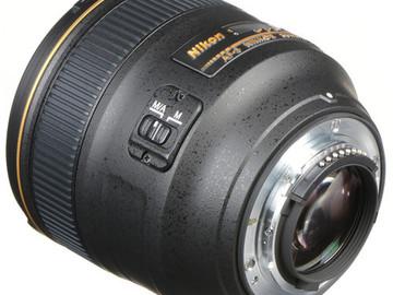 Rent: Nikon 85mm (1.4)