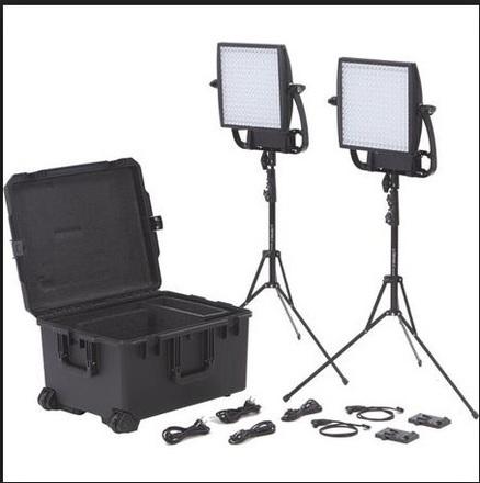 2 x Astra Lightpanels Kit with Batteries