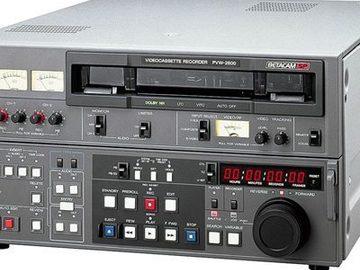 Rent: Sony PVW2800
