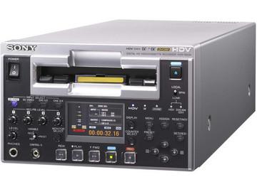 Rent: Sony DVCAM HDV Video cassette recorder