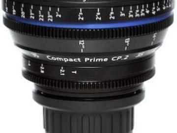 Rent:  Zeiss CP.2 35mm/T2.1 PL Mount