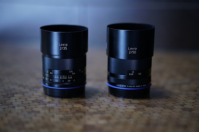 Zeiss Loxia 35mm & 50mm with Circular ND filters (52mm)