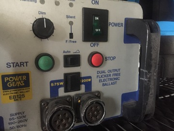 Rent: LTM 1.2K (1200w) HMI Par w/ Powergems Electronic Ballast #3
