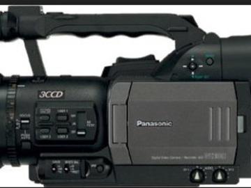 Rent: Panasonic DVX100b with blackmagic recorder for pro res files