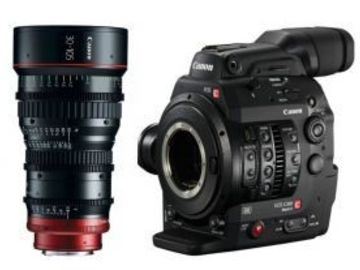 Rent: Canon EOS C300 Mark II +  30-105mm T2.8 Cine Zoom Lens