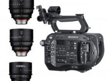 Rent: Sony PXW FS7II XDCAM 4K - Cine Lens Kit