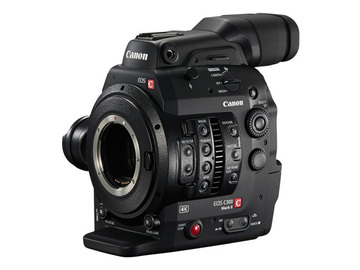 Rent: Canon EOS Digital Cinema Camera C300 Mark II