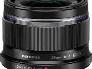 Rent: Olympus  M.Zuiko 25mm