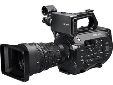 Rent: Sony PXW-FS7 4K Camera Kit With  Sony FE PZ 28-135mm F4 G O