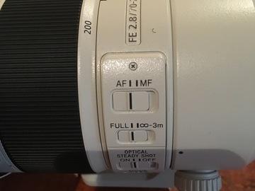 Rent: Sony FE 70-200mm f/2. 8 GM OSS