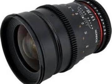 Rent: 35mm Rokinon