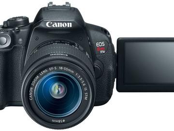 Rent: Canon Rebel T5i DSLR