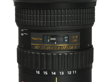 Rent: Tokina AT-X 11-16mm f/2.8 116 Pro DX V EF Mount