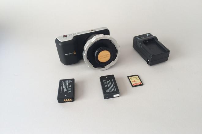 Blackmagic Pocket Cinema Camera PL Mount