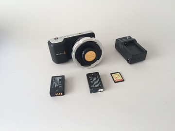Rent: Blackmagic Pocket Cinema Camera PL Mount