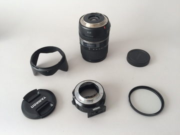 Rent: Tamron 16-300mm f/3.5-6.3 Di II VC PZD Macro w/ metabones