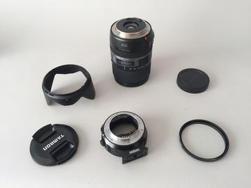 Rent: Tamron 16-300 w/metabones to Sony E mount