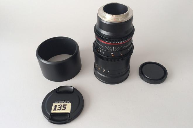 Rokinon Cine DS 135mm T2.2