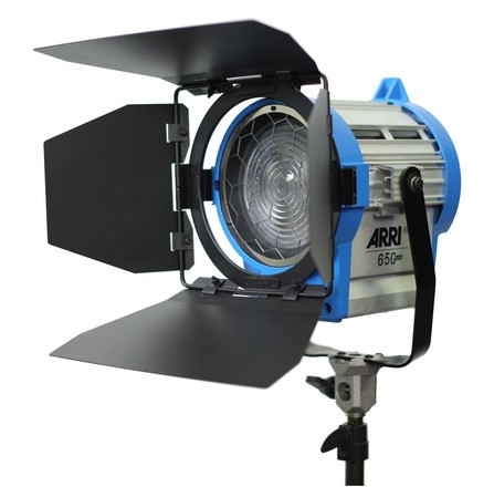 Two ARRI 650w Fresnel Kit