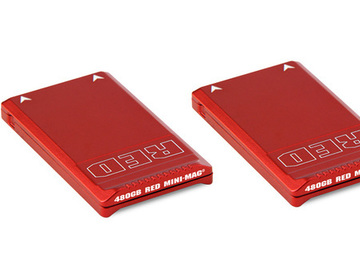 Rent: 2 X RED MINI-MAG SSD - 480GB EACH X 2 + MINI-MAG READER USB3