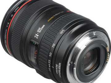 Rent: Canon 24-105mm (4.0) IS USM Zoom Lens
