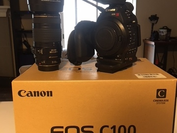 Rent: Canon EOS C100 Cinema Camera w/ Canon 70-300mm