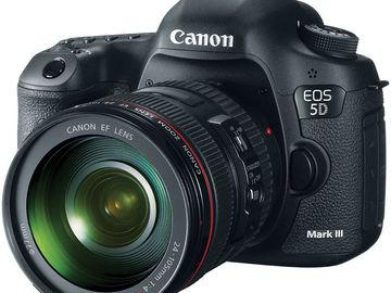 **FILMMAKER SPECIAL** Canon EOS 5D Mark III (w/ 2 Lenses)