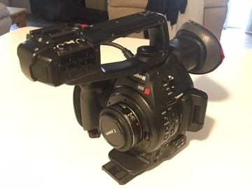 Rent: Canon C100 Mark II w/ Canon 40mm 2.8