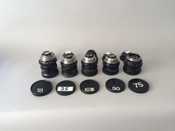 Rent: Zeiss Distagon Hi speed Primes w/ clip-on matte box and NDs