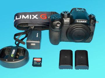 Rent: Panasonic Lumix DMC-GH4 w/ 256GB SDXC, 2 Batteries D