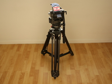 Rent: OConnor UltimateDV Tripod with 35L Sticks