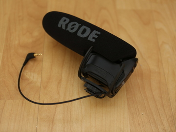 Rent: Rode VideoMic Pro with Rycote Shockmount