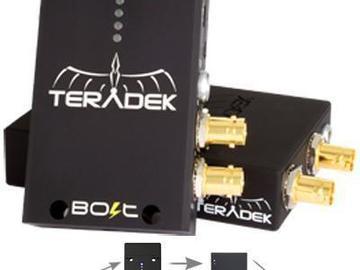 Rent: Teradek Bolt 3G-SDI Video Transceiver Set 1:2