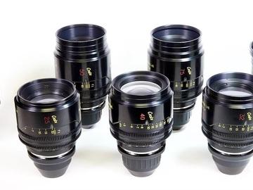 Rent: Cooke Mini S4 Uncoated Set of (5) Lenses