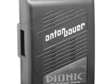 Rent: 4 Anton Bauer DIONIC 90 Gold Mount batteries and TM4 charger