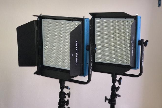 Dracast 2 Light Kit - LED1000 Plus Series Daylight L