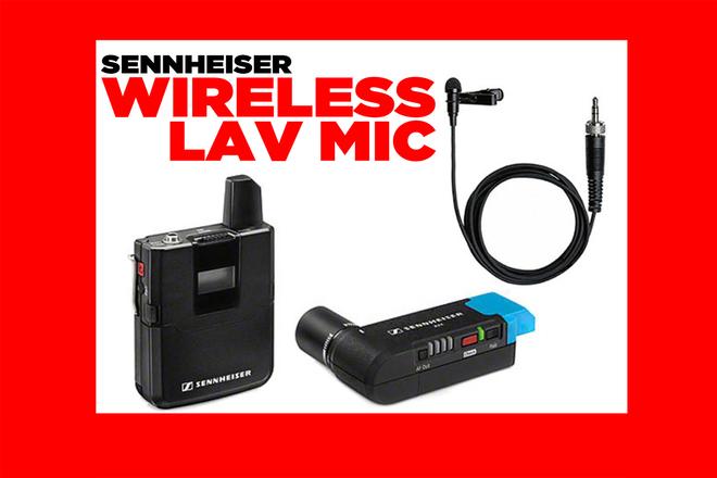 Sennheiser AVX ME2-II Wireless Lavalier Set